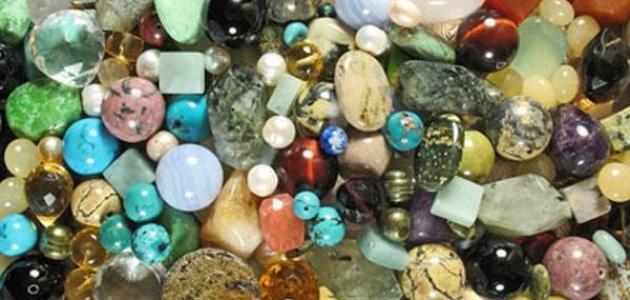 أنواع الأحجار كريمة