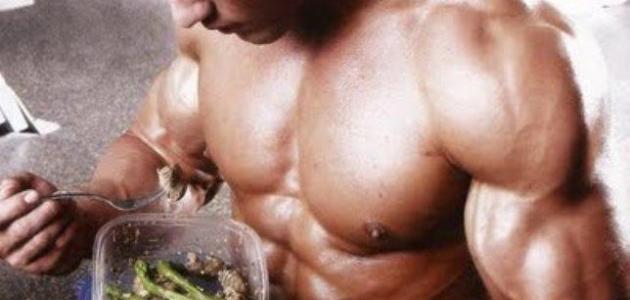 التمرين بعد الأكل