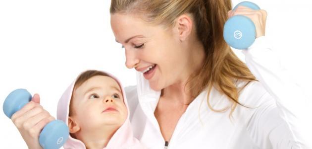 التخلص من الوزن الزائد بعد الولادة