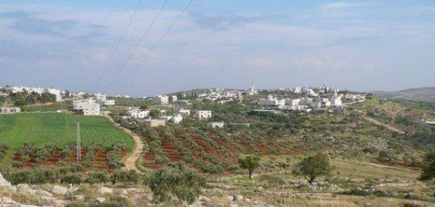 قرية دوما نابلس