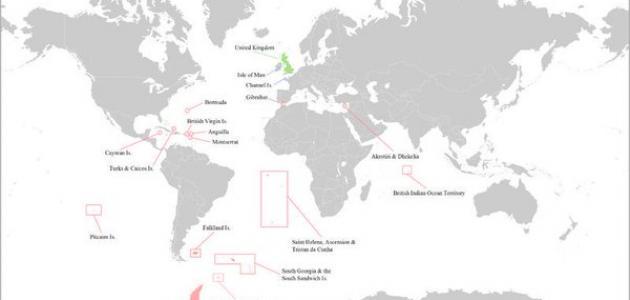 دول ما وراء البحار