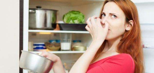 إزالة رائحة الثلاجة الكريهة