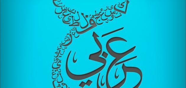 حكمة عن اللغة العربية