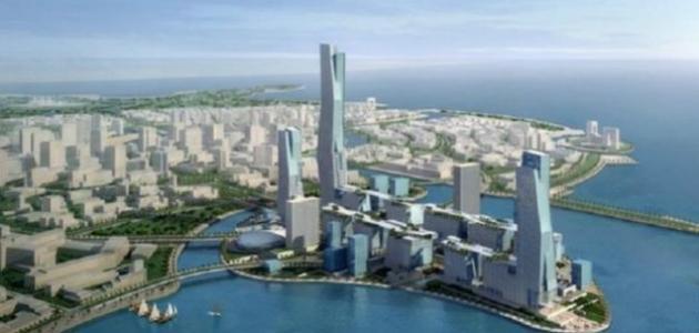 أين تقع مدينة الملك عبدالله الاقتصادية