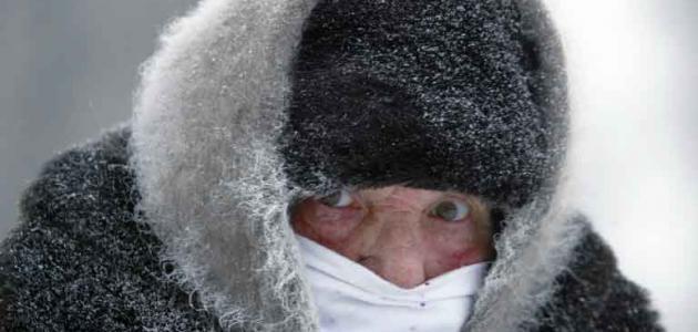 أضرار البرد