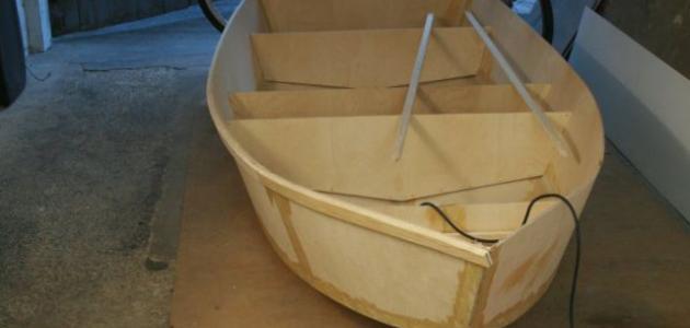كيف تصنع قارب