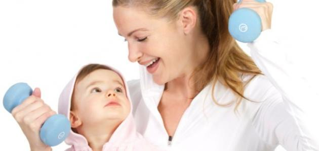 طرق للتخلص من الكرش بعد الولادة