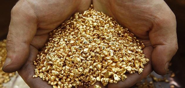 كيف كان يستخرج الذهب قديماً