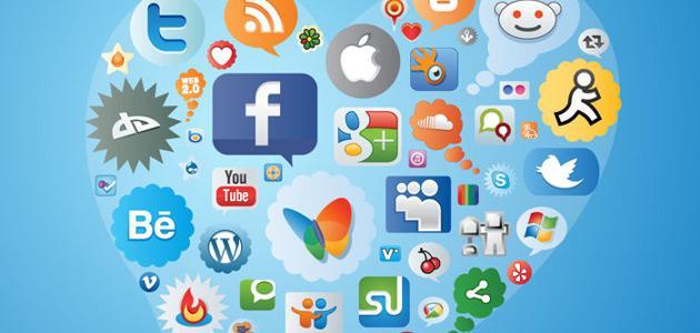 أنواع مواقع التواصل الاجتماعي موضوع