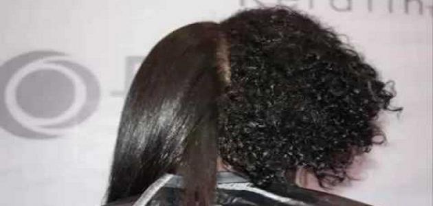 أضرار كيراتين الشعر