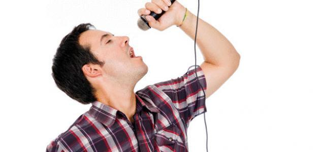تدريب الصوت على الغناء