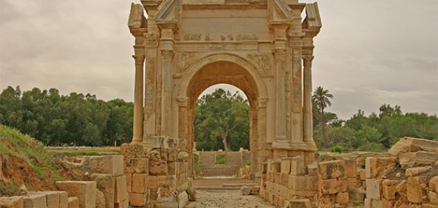 آثار ليبيا
