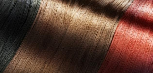 طريقة صبغ الشعر خصل