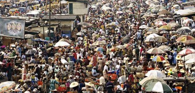 بحث عن الزيادة السكانية في مصر