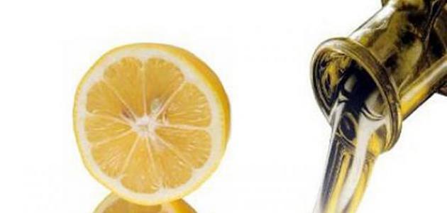 فوائد زيت الزيتون والليمون للوجه