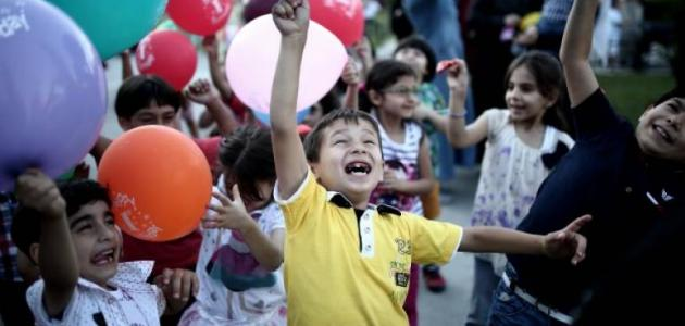 فرحة الأطفال بالعيد