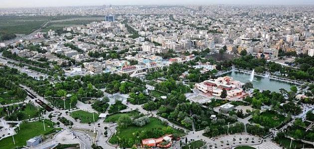 مدينة مشهد في الدولة الإيرانية