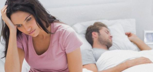 أسباب قلة النوم عند النساء