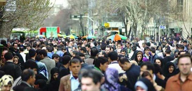 عدد سكان إيران