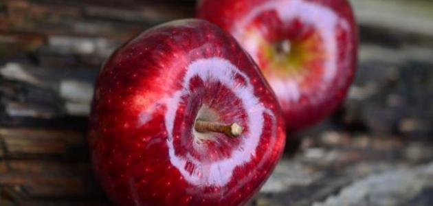 أضرار التفاح