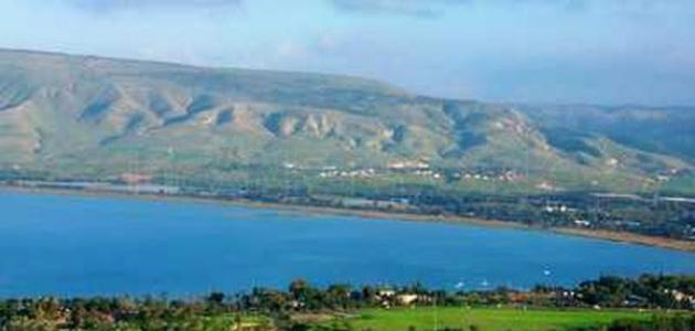 معلومات عن بحيرة طبريا