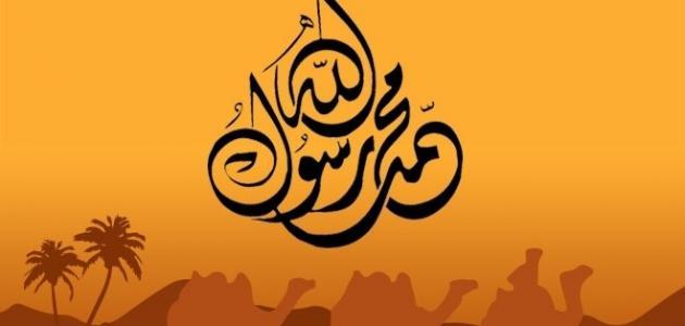 معلومات عن محمد رسول الله