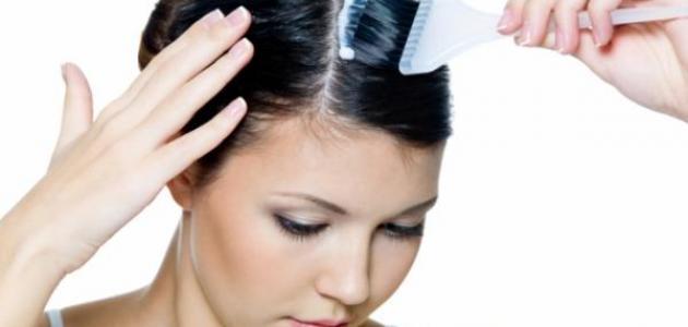 تأثير صبغة الشعر على الحامل