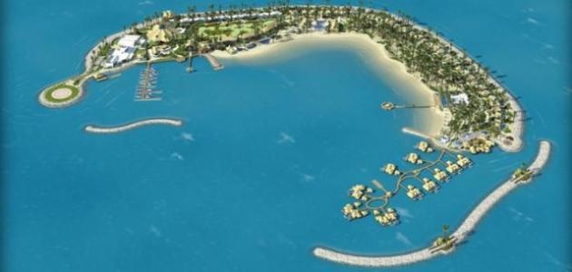 جزيرة البنانا في قطر