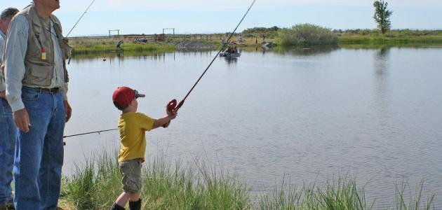 تعلم صيد السمك