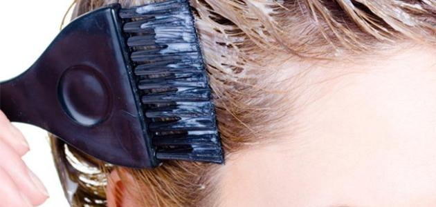 أضرار صبغ الشعر