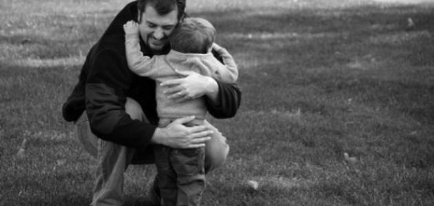 كلمات عن حنان الأب