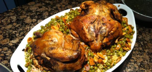 عمل الأوزي بالدجاج