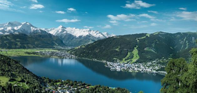 بحيرة زيلامسي في النمسا