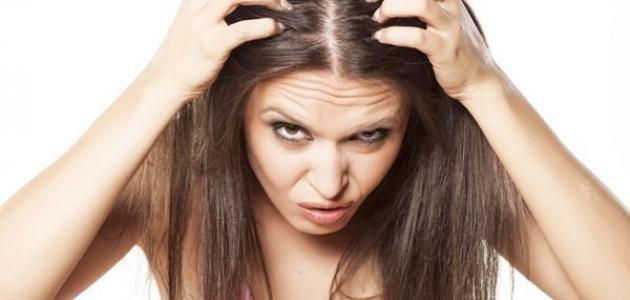 تساقط الشعر من الأمام