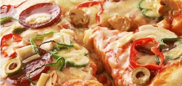كيفية عمل البيتزا بالخضار