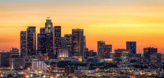 مدينة لوس أنجلوس ومعالمها