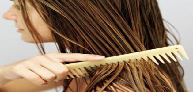 بيكربونات الصوديوم تساعد مع الشعر الزيتي / رائحة كريهة