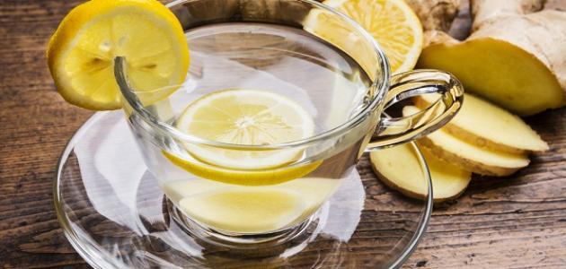 فوائد الزنجبيل مع الليمون