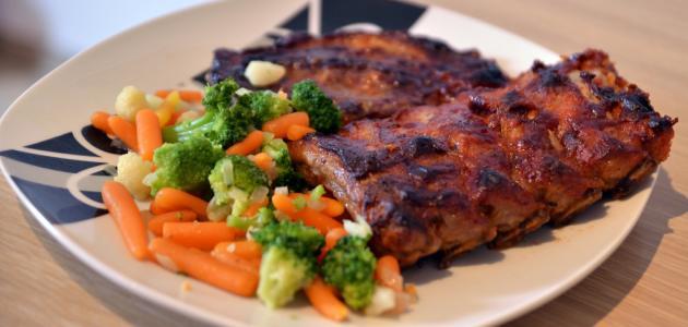 من وجبات الطعام في رمضان