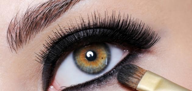 طريقة رسم العيون