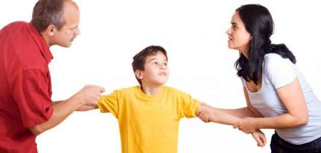 bc6da6b30 أثر الطلاق على الأطفال - موضوع