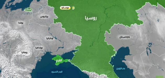 مساحة روسيا