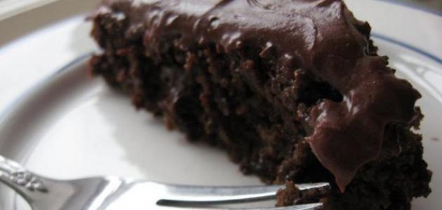 طريقة الكيك بالشوكولاتة