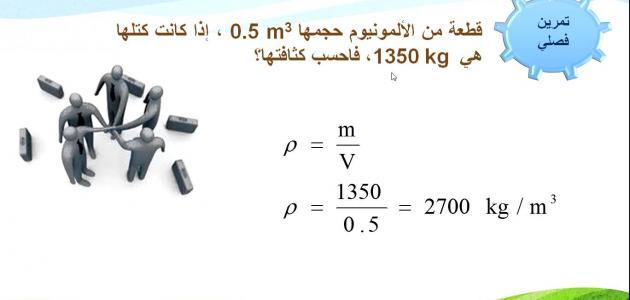 قانون الكثافة