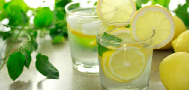 طريقة عمل عصير ليمون بالنعناع