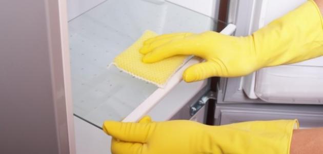 كيف أنظف ثلاجتي