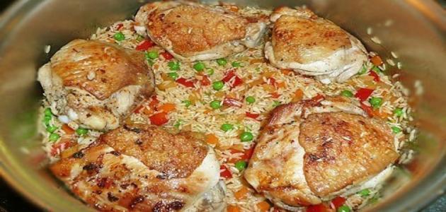 طريقة عمل الأوزي بالدجاج