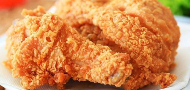 طريقة عمل دجاج بروستد