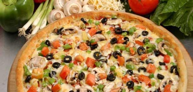 طريقة البيتزا الصيامي