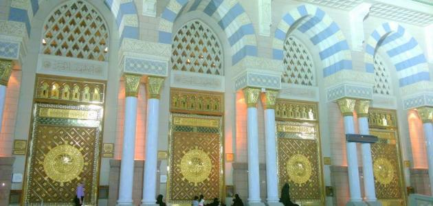 عدد أبواب المسجد الأقصى